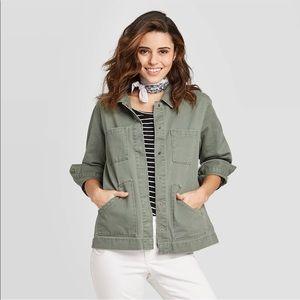 Women's Long-Sleeve Chore Jacket